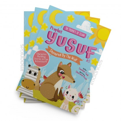 Prophet Yusuf and the Wolf Activity Book